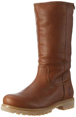 Lammfell Ankle Boot Hausschuhe (Panama Jack Bambina  Damen Warm gefüttert Schlupfstiefel Langschaft Stiefel & Stiefeletten, Braun (Bark B11), 39 EU (6 Damen UK))