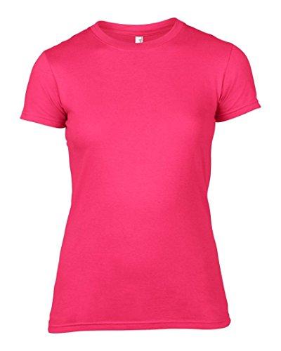 Anvil - T-shirt - Femme * taille unique rose vif