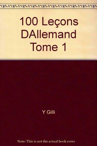 100 leçons d'allemand : livret complémentaire