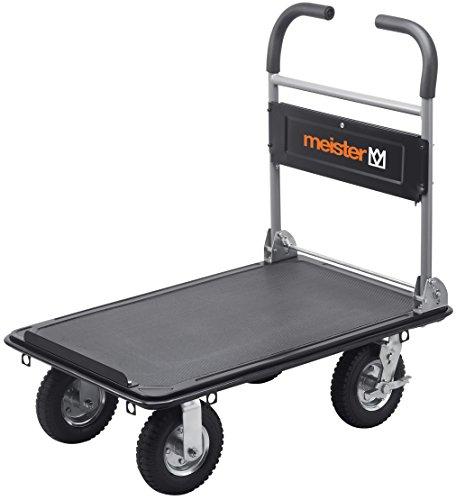 Meister 8985700 Chariot plateforme tout terrain 300 kg