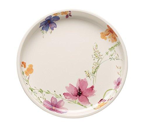 Villeroy & Boch Mariefleur Basic Servierplatte, Premium Porzellan, Mehrfarbig, 26 cm
