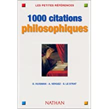 1000 Citations de philosophie