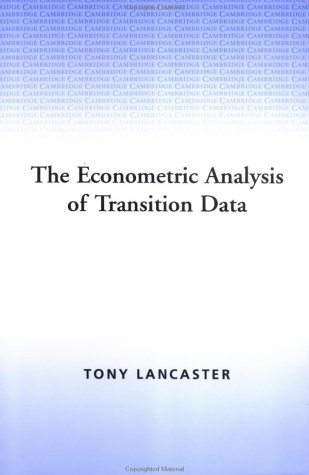 The Econometric Analysis of Transition Data Paperback (Econometric Society Monographs)