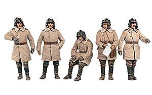 Mini Tipo 35244Maqueta de Soviet Tank Crew (Invierno Uniforms) Special Edition
