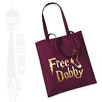 Jutebeutel Stoffbeutel 'Free Dob