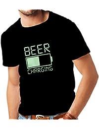 lepni.me Camisetas Hombre Emborracharse, Ropa Divertida para Beber Alcohol, Ideas Divertidas de