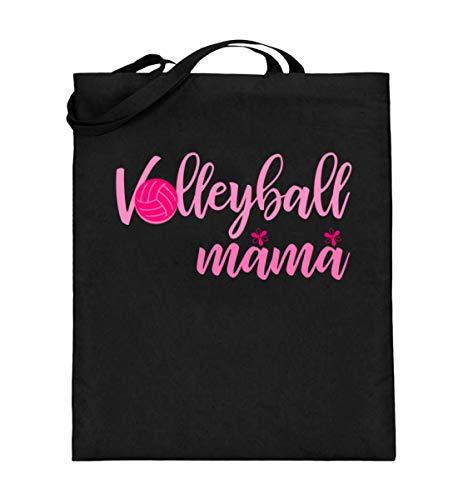 Chorchester Volleyball Mama für Ballsport Fans - Jutebeutel (mit langen Henkeln)