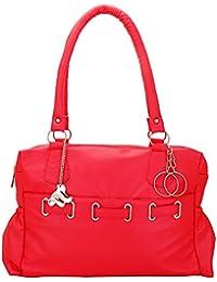 Lady Bar Women's Handbag (Bag- 19,Red)