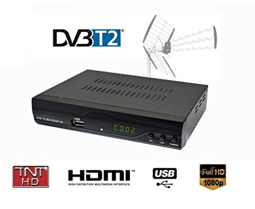 Decodificador TDT 1080P Full HD -  STROM 504 / Dolby / multimedia / Jugador...