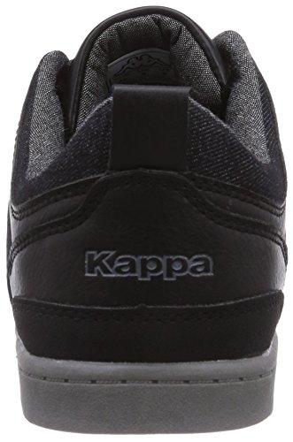 Kappa ROOSTER Herren Sneakers Schwarz (1113 black/anthra)