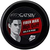 Gatsby Hair Styling Fibre Wax Bold and Rise, 75g