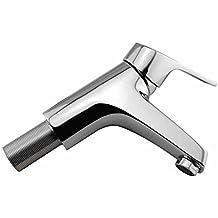 Todos los Cobre Único Agujero Contador Basin Single Handle Faucet Agua caliente y fría El núcleo
