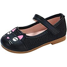 Zapatos NiñAs Carnaval ZARLLE Zapato Princesa NiñA Dibujo De Gato De Dibujos Animados Sandalias De Vestido
