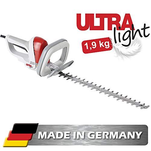 IKRA Elektro Heckenschere Ultralight FHS 1545 500W Schnittlänge 45cm Made in Germany 1,9kg