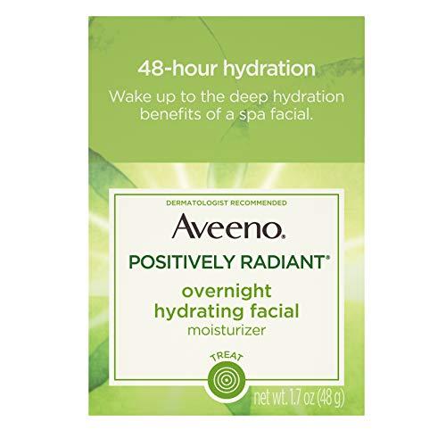 Aveeno Durante noche positivamente radiante hidratante