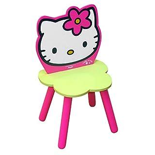 Hello Kitty - 711165 - Ameublement et Décoration - Chaise Fleur en Boîte - Quadricolore