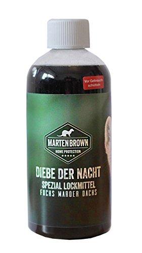 Platzhirsch Lockmittel Duftstoff für Marder Fuchs Marderhund Waschbär 500ml