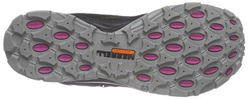 Merrell - Verterra Mid Sport Gtx, Scarpe Da Trekking da donna Marrone (Ebony Leather)