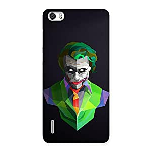 Neo World Green Abstract Art Back Case Cover for Huawei Honor 6