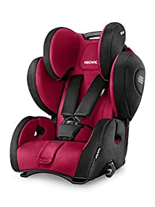 Recaro Young Sport Hero Group 123 Car Seat - Ruby