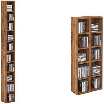 cd regal lucerne eiche massiv holz moebel cd tower cd schrank cd st nder k che. Black Bedroom Furniture Sets. Home Design Ideas