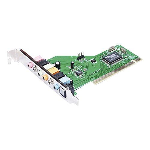 Approx APPPCI71 - Tarjeta de sonido 32 bit PCI 7.1, color plateado y v