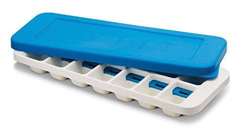 Joseph Joseph Quick Snap Plus Eiswürfelbehälter mit Deckel, blau