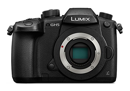 Panasonic DC-GH5 Lumix - Cámara Digital DE 20.3 MP (Cuerpo MILC 20.3MP Live Mos, 5184 x 3888 Píxeles, Full HD, Pantalla Táctil), Color Negro