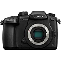 Panasonic LUMIX Systemkamera DC-GH5EG-K, 20 MP, Dual I.S., 4K Video, 4K/6K, Wechselobjektivkamera, schwarz