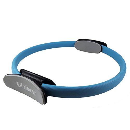 Pilates Yoga Gymnastik Widerstands Ring Circle mit 39cm Durchmesser - blau