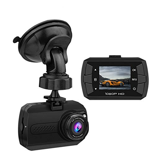 HUAWO 1080P FHD In Car Dash Cam Camera DVR Metal Driving Video Recorder 8 IR LED Lights Super Night Vision 170°Wide Winkel mit WDR, Loop-Recording, G-Sensor, Parking Monitoring, Motion Detection -