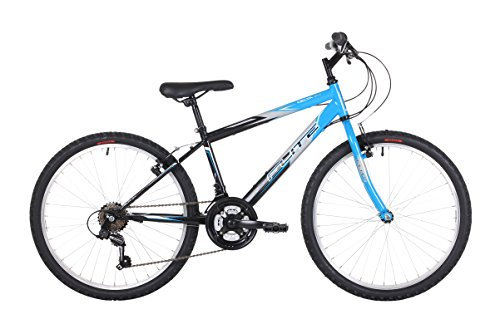Flite Delta Boys' Mountain Bike Blue, 14