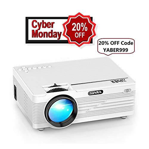 Mini Proiettore, YABER LED Proiettore 2600 Lumen Home Cinema Intrattenimento con 170