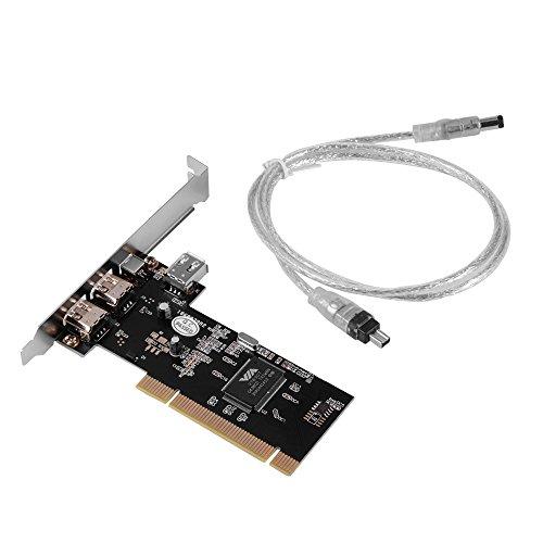 XCSOURCE® 4 puertos PCI Firewire adaptador tarjeta