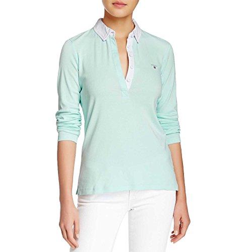 GANT - NEAT RUGGER L.S., T-shirt da donna Green
