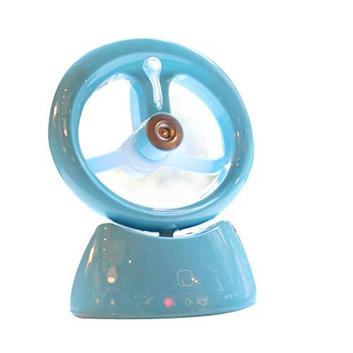 Sulifor Luftbefeuchter Mini-Lüfter, tragbarer Luftbefeuchter Handheld-USB-Mini-Spray-Lüfter Eingangsstrom: 450mA