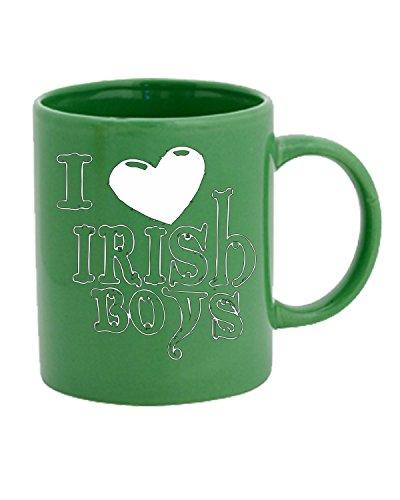 T-Shirtshock - Tasse 11oz OLDENG00849 love irish boys logo, Größe 11oz (Love Boys-t-shirts Irish)