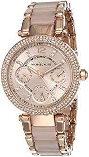 Michael Kors Women's Mini Parker Two-Tone Watch MK