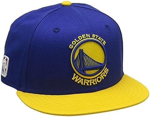 New Era Nba Snap Golden State Warriors Offical Team Casquette Garçon, Jaune/bleu , mixte enfant
