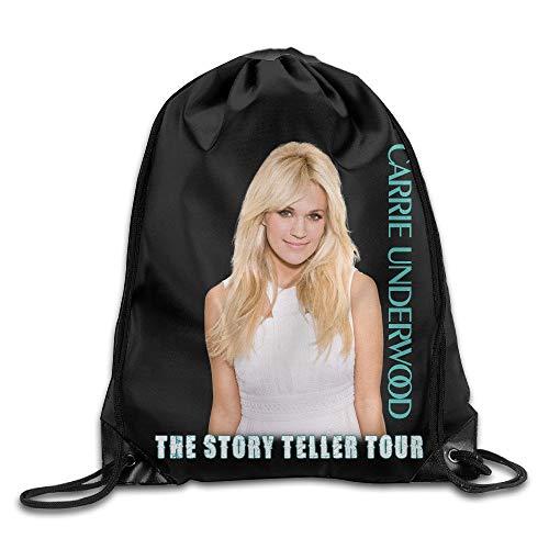 HLKPE Drawstring Gym Bag Carrie Underwood Storyteller Tour