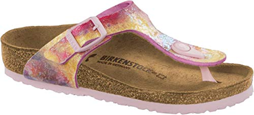 Birkenstock 'Gizeh Kids Toe Separator Acqua Color Multi Sintetico