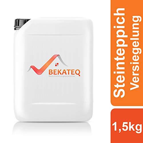 BEKATEQ Versiegelung Steinteppich BK-630EP 2K Epoxidharz transparent - 1,5kg