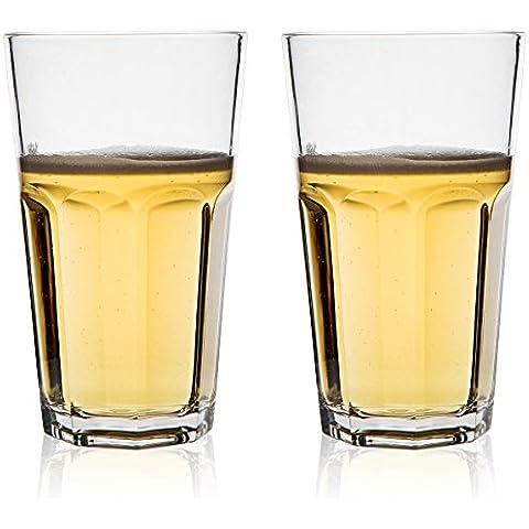 MICHLEY Infrangibili Calici da acqua, 100% Bicchieri e cristalli Ristorante-qualità