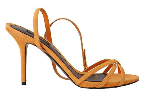 Dolce & Gabbana - Damen Sandalen - Suede Ankle Strap - EU 39 Dolce & Gabbana Print-heels