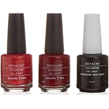Revlon Colorstay Envy Be Inspired Pintauñas Gel Tonos Rojos - 3 Unidades