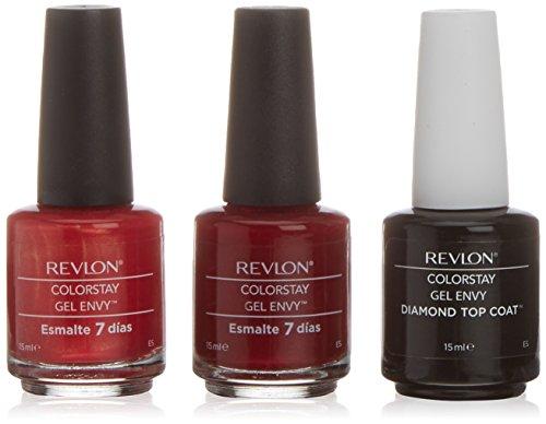 Revlon Couleurstay Envy Be Inspired Vernis À Ongles Gel Tonos Rojos - 3 Unités