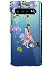 """Funda para Samsung Galaxy S10, Carcasa Transparente Protectora Reforzado Cojín de Esquina Parachoques Case Flexible TPU Suave Anti-Choque Ultra-Delgado Back Protección para Galaxy S10 6.1"""""""