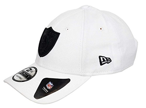 New Era Oakland Raiders 9forty Adjustable Cap League Essential White - One-Size