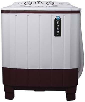 BPL 6.5 kg Semi-Automatic Top Loading Washing Machine (BSATL65N1, Maroon)