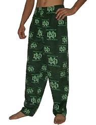 NCAA North Dakota Fighting Sioux hommes Fall / Winter Polar Fleece Thermal Sleepwear / Pajama Pantalon